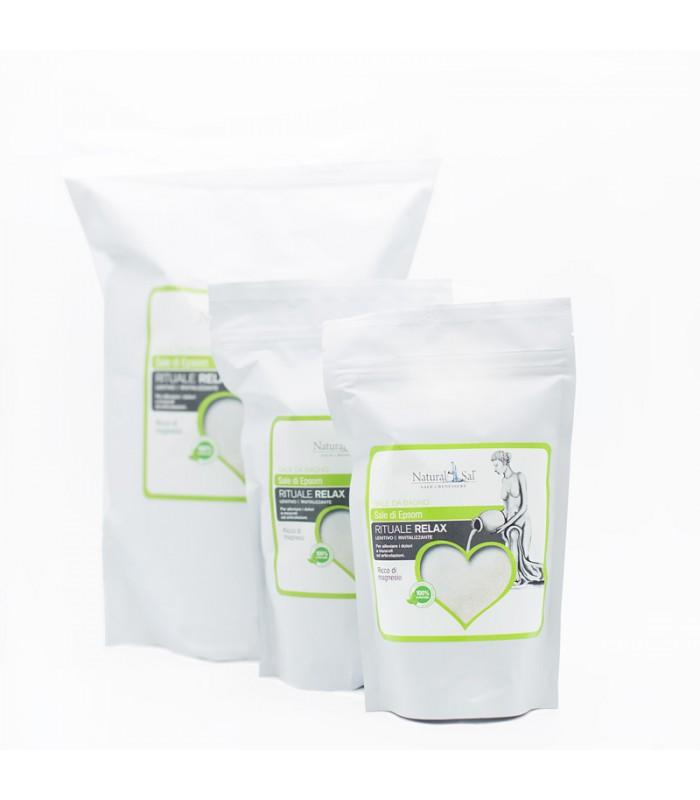 Sale epsom da bagno richiudibile 3 kg - Sali di epsom bagno ...