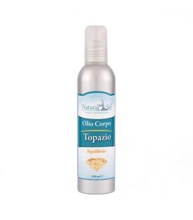 """Olio Corpo Topazio """"Felicità"""", fragranza Arancio e Vaniglia"""