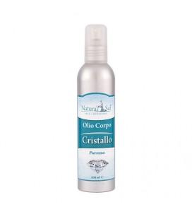 """Olio Corpo Cristallo """"Purezza"""", fragranza Salvia e Brezza"""