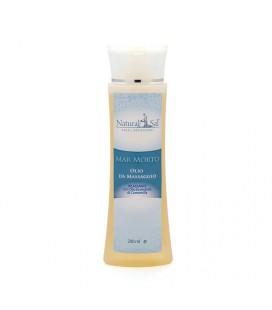 Olio da Massaggio Mar Morto, Speciale Contratture, Rilassante con Olio Essenziale di Camomilla