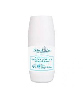 """Deodorante corpo """"Brezza Marina"""", roll on,con allume di rocca e succo di aloe bio, per tutti i tipi di pelle"""