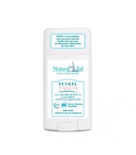 """Deodorante corpo """"Talco"""", gel,  con allume di rocca e glicerina vegetale, per tutti i tipi di pelle"""