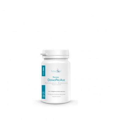 """Integratore alimentare """"NaturalDermoProAge"""", Antiossidante, Rigenerante, Tonificante, con Collagene, Acido Ialuronico"""