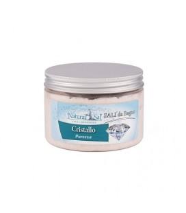 """Sali da Bagno Cristallo """"Purezza"""",  con Sale Rosa dell'Himalaya, fragranza Salvia e Brezza"""