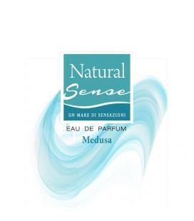 Profumo Corpo Donna NaturalSense Medusa, fragranza agrumata-gourmand