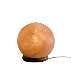 Lampada sale rosa sfera